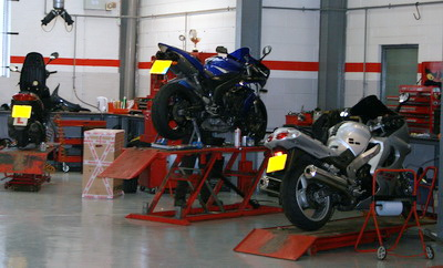motorcycle trade Workshop Management