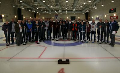 Curling in Stirling with BAGMA