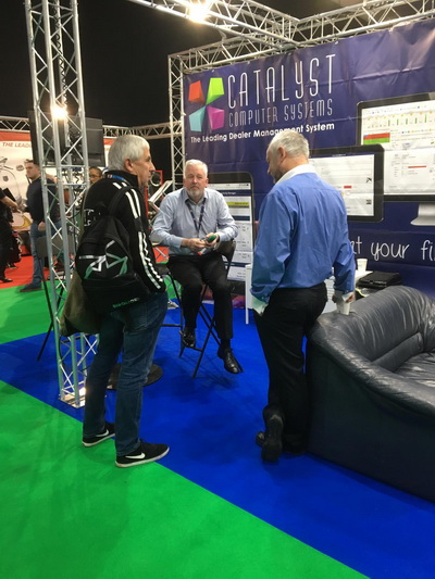 Catalyst at the Motorcycle Trade Expo 2019 on stand B28.