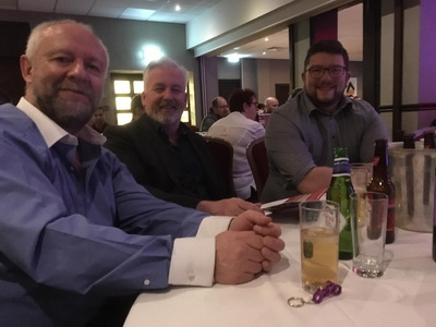 Jeff, Nigel and Nathan at Catalyst at British Dealer News Awards 2019 .