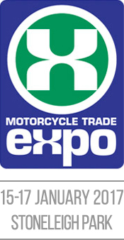 Catalyst at the Motorcycle Trade Expo 2017 on stand B28.